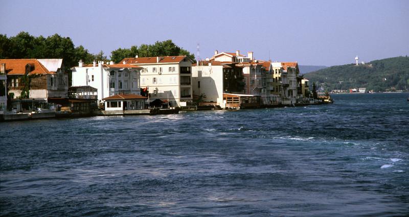 Tarabya Bay on the Bosphorus Turkey