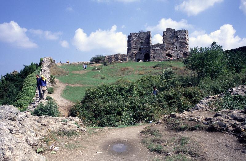 Genoese Castle at Anadolu Kavagi on the Bosphorus