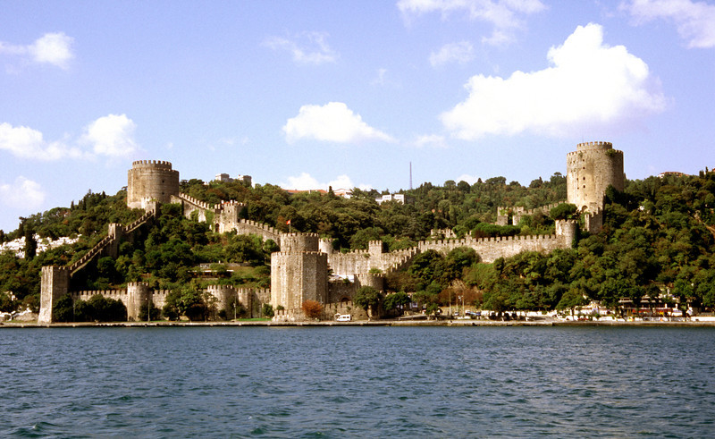 Fortress of Europe on the Bosphorus near Istanbul
