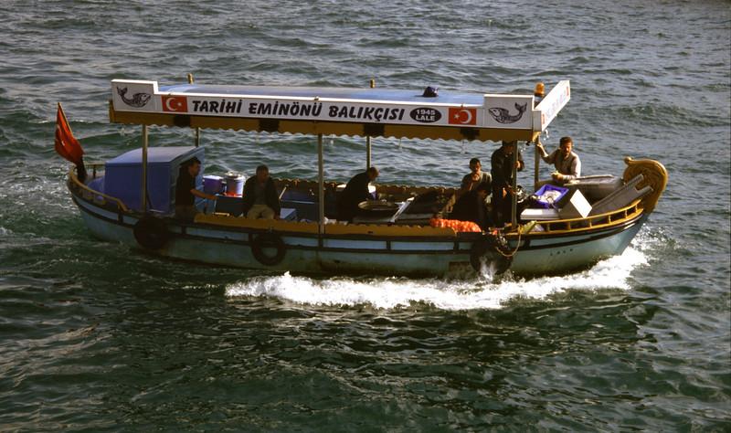 Small boat Eminonu Istanbul