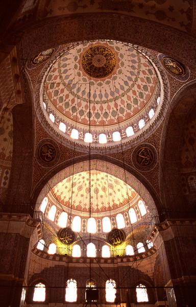 New Mosque Interior Istanbul