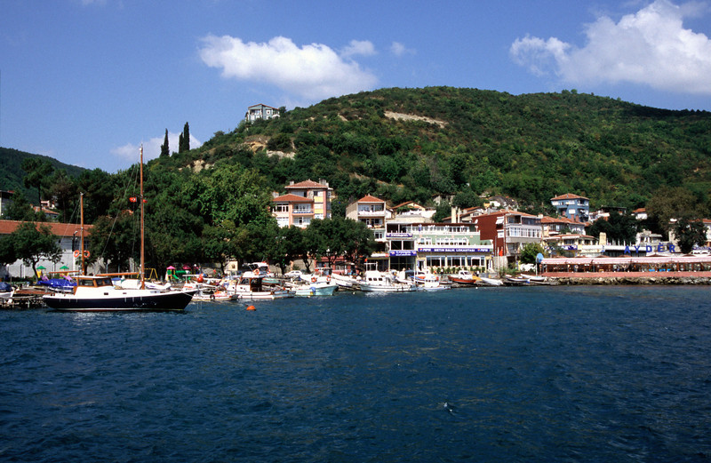 Rumeli Kavagi on the Bosphorus Turkey
