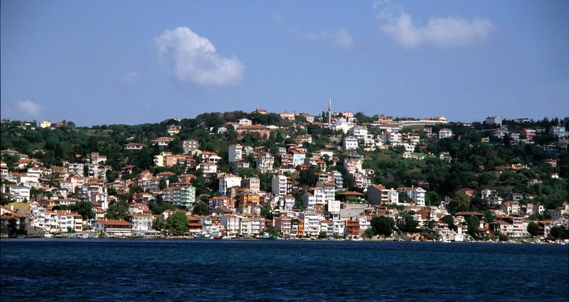 Sariyer fishing port Bosphorus Turkey
