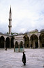 Blue Mosque courtyard Istanbul