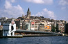 Galata Tower viewed across the Golden Horn Istanbul
