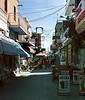 Tourist shopping street Kardamina Kos