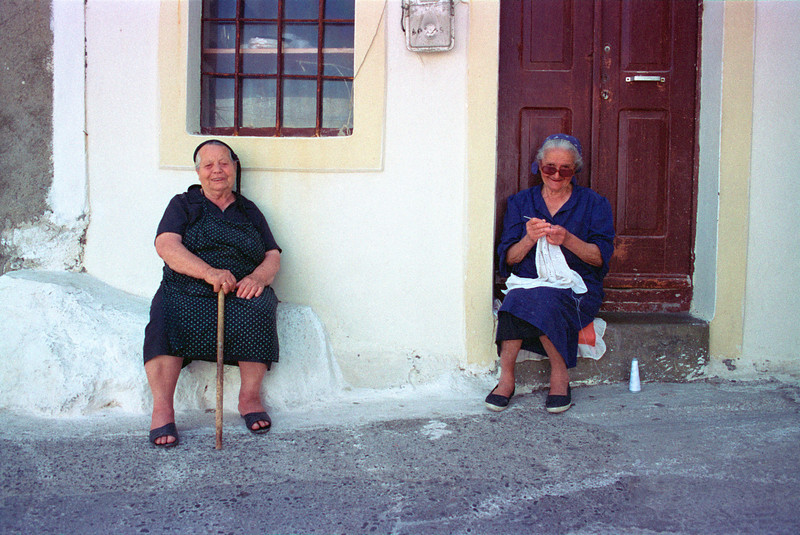 Traditional Greek Women Nisyros