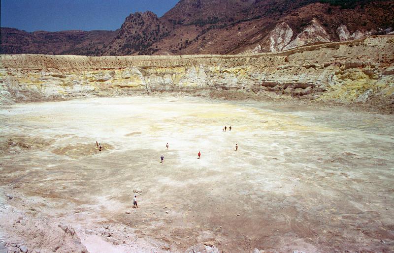 Lakki Plateau volcanic crater Nisyros
