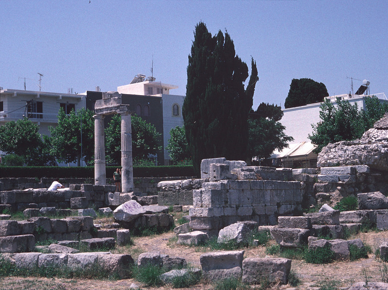 Ancient Agora Kos Greece