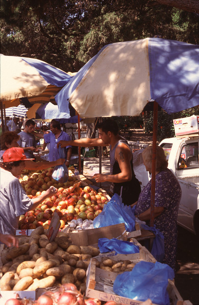 Fruit Market Rhodes City
