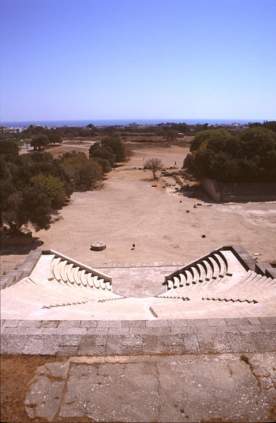 Rhodes Acropolis Theatre