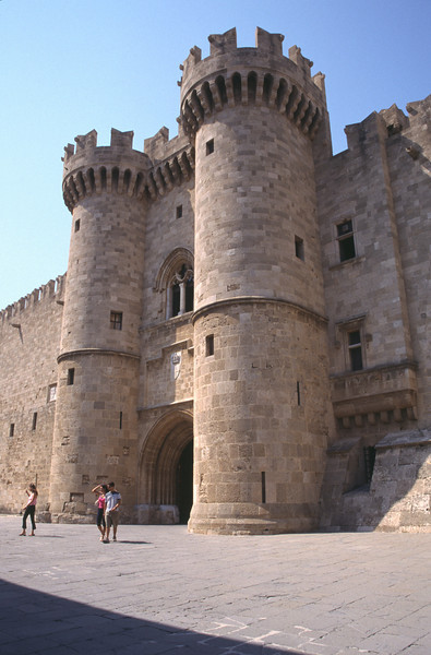 Palace of the Grand Masters Rhodes City Old Town