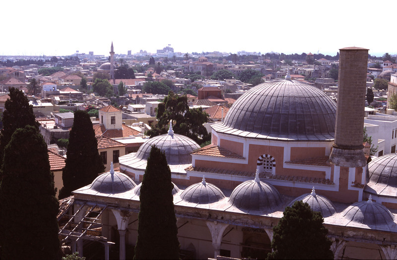 Mosque of Suleyman Rhodes City Old Town