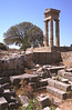 Temple of Pythian Apollo Acropolis of Rhodes Greece