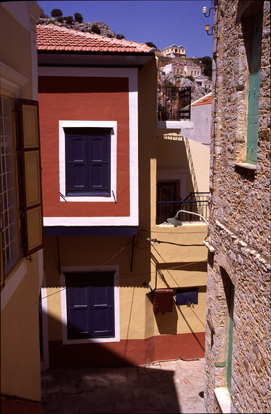 Neoclassical residence Symi