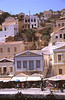 Neoclassical architecture Symi Greece