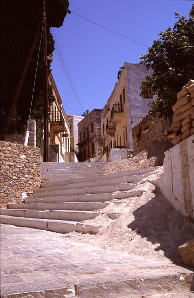 Stairway Symi Greece