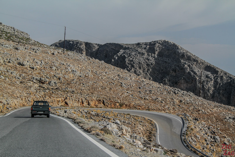 Mountain roads in Crete 2