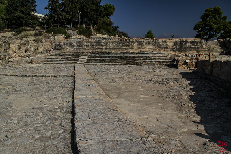 Phaistos Palace Crete - theater