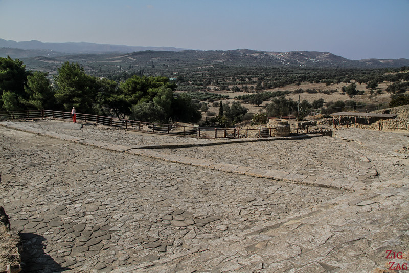 Overall view of the Phaistos Ruins 3