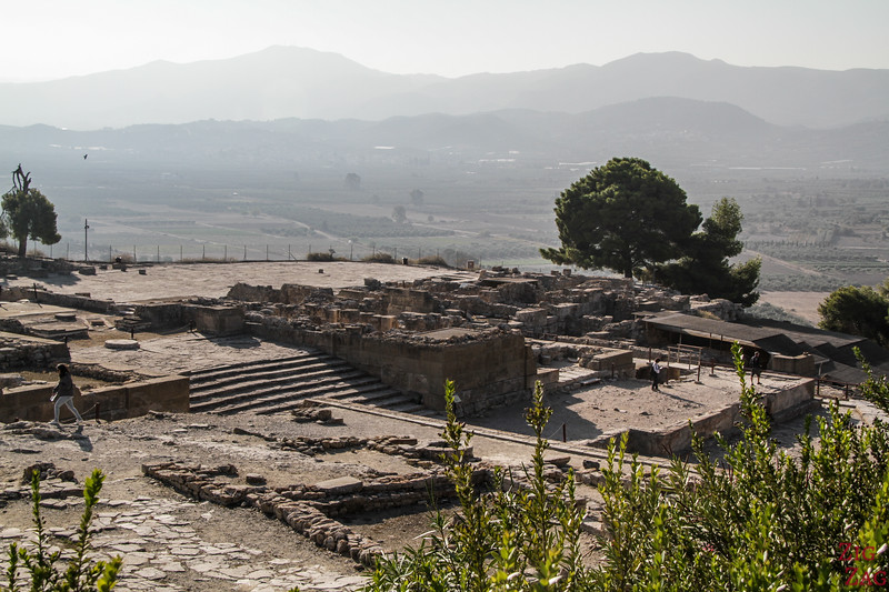 Crete archaeological site of Phaistos Palace