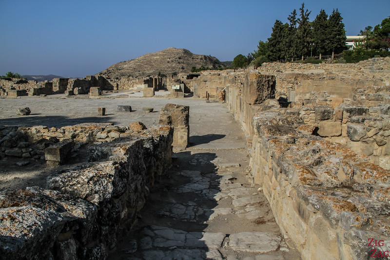 Phaistos Palace Crete - Courtyard