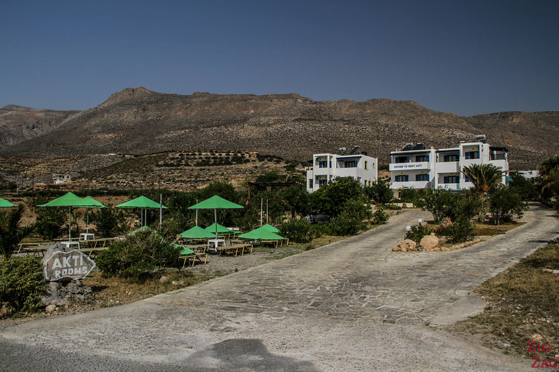 Xerokampos accommodation