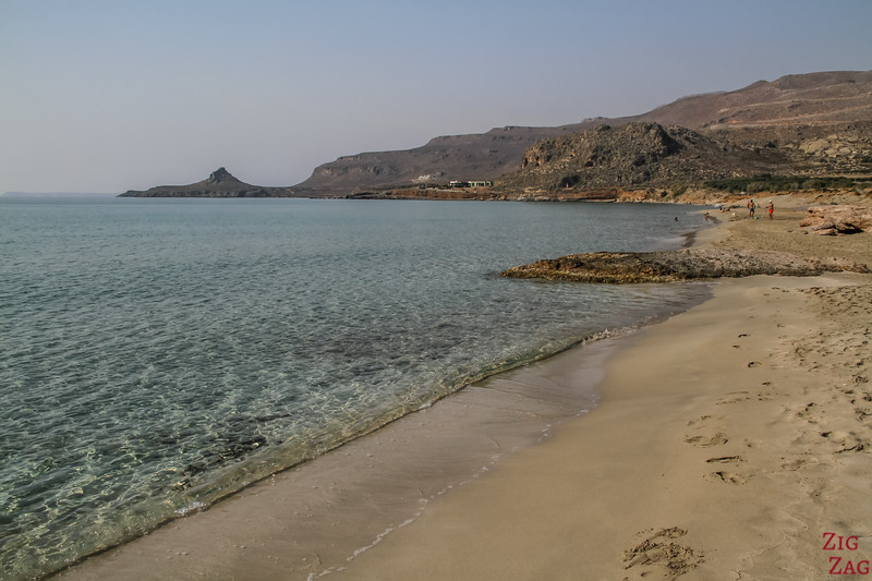 Xerokampos beach - Most scenic beaches in Crete