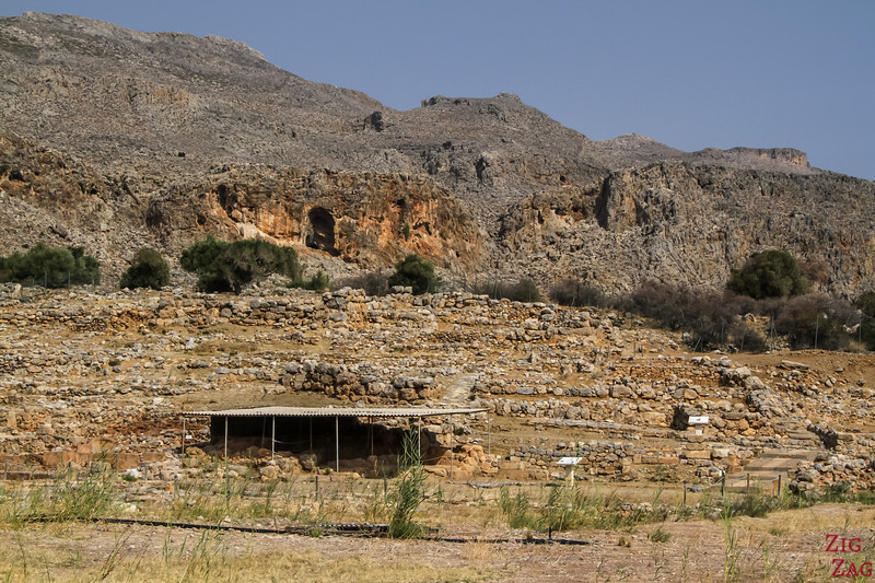 The Minoan Palace of Zakros - Ruins 2