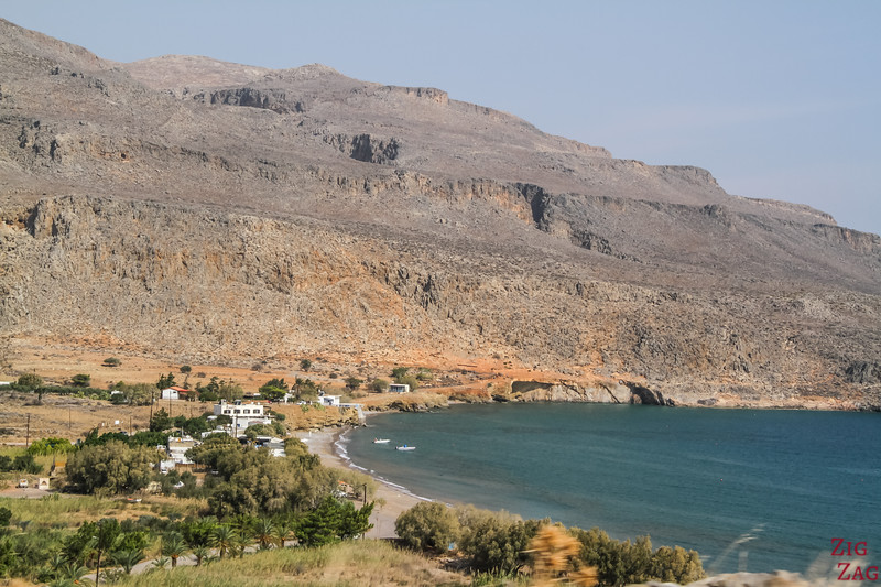 The Village of Kato Zakros Crete