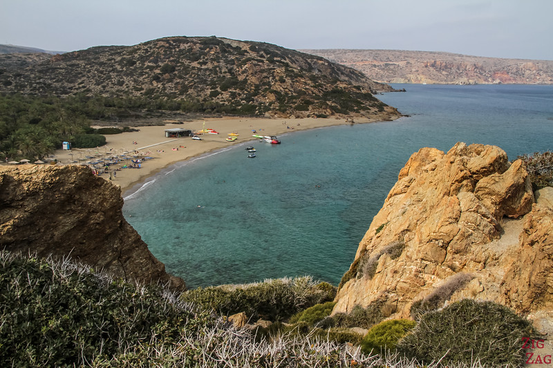 ​Top things to do in Crete - Vai beach