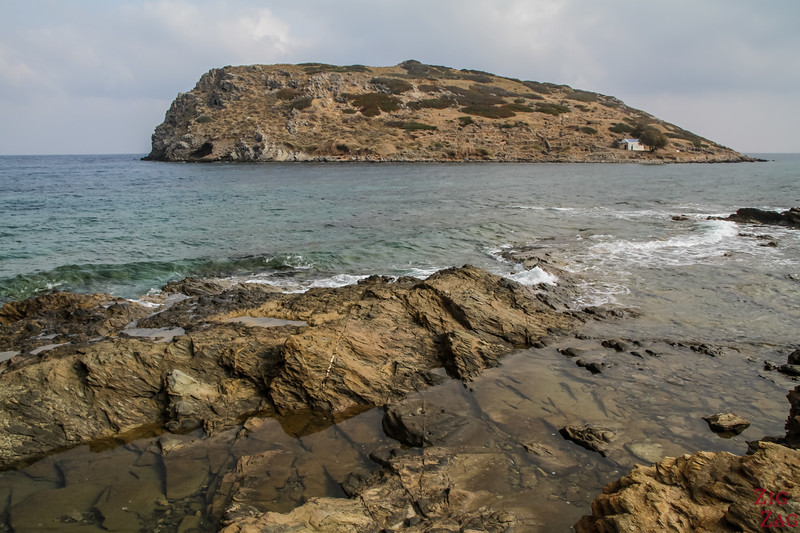 Mochlos Seafront & Rock formations 4