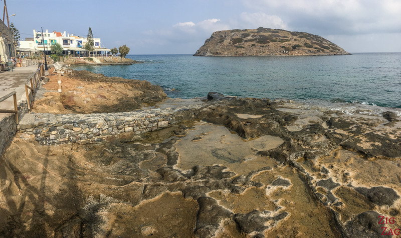 Mochlos Seafront & Rock formations 3