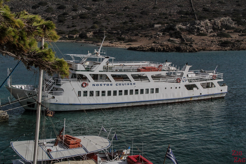 How to get to Spinalonga island from Agios Nikolaos