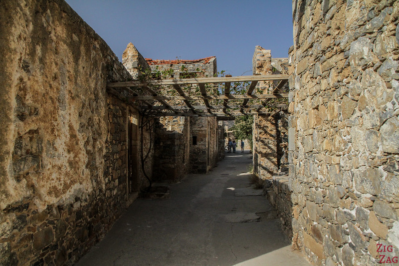Abandoned Village on the island of Spinalonga Crete 4