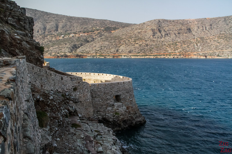 fortifications of Spinalonga island crete 6