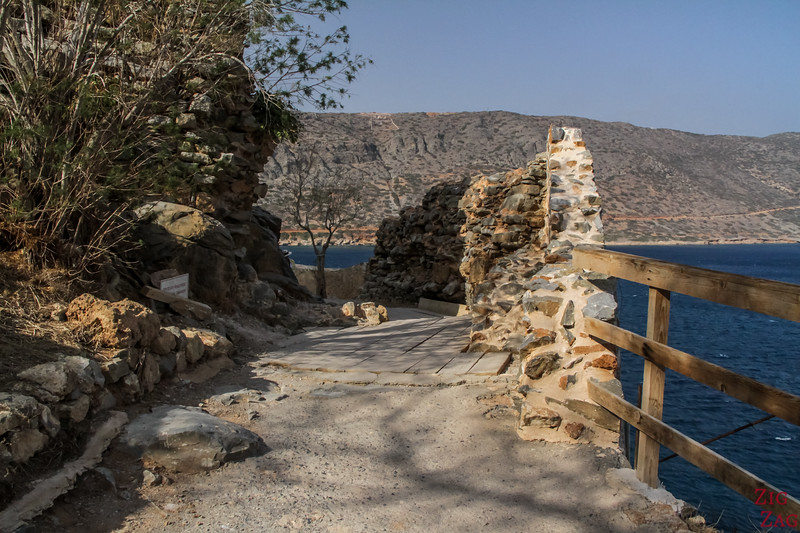 fortifications of Spinalonga island crete 5