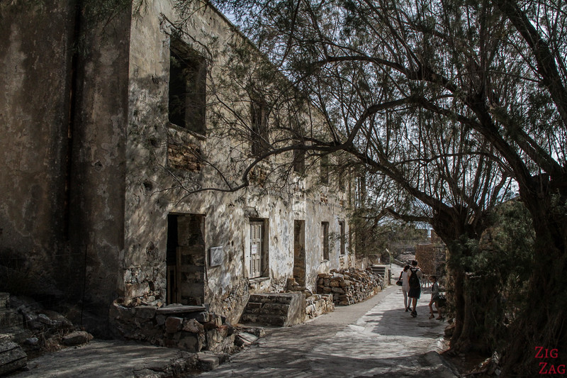 Abandoned Village on the island of Spinalonga Crete 2