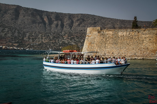 The most historical boat tour from Crete - Spinalonga Island - from Plaka