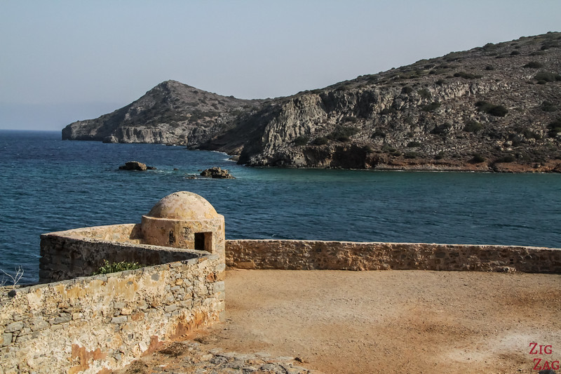 fortifications of Spinalonga island crete 3