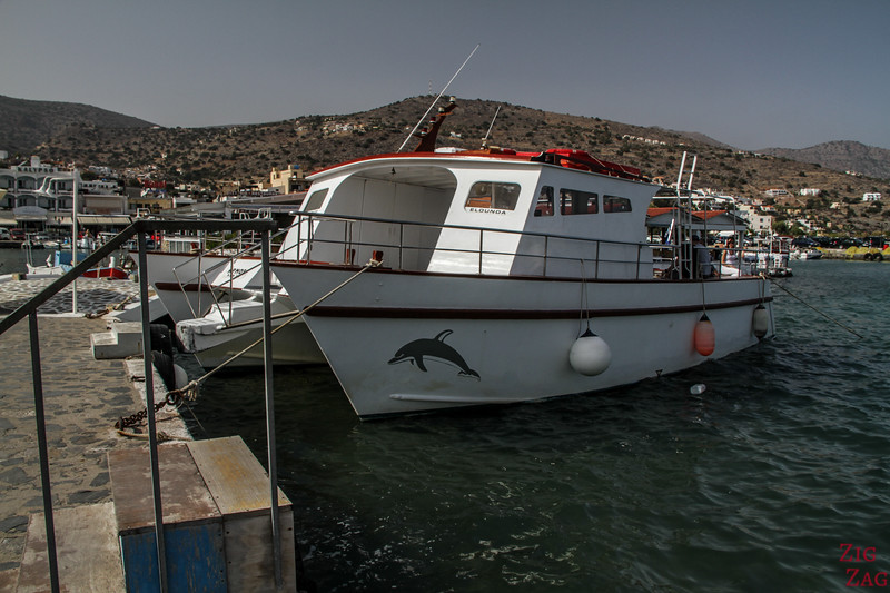 How to get to Spinalonga island from Elounda