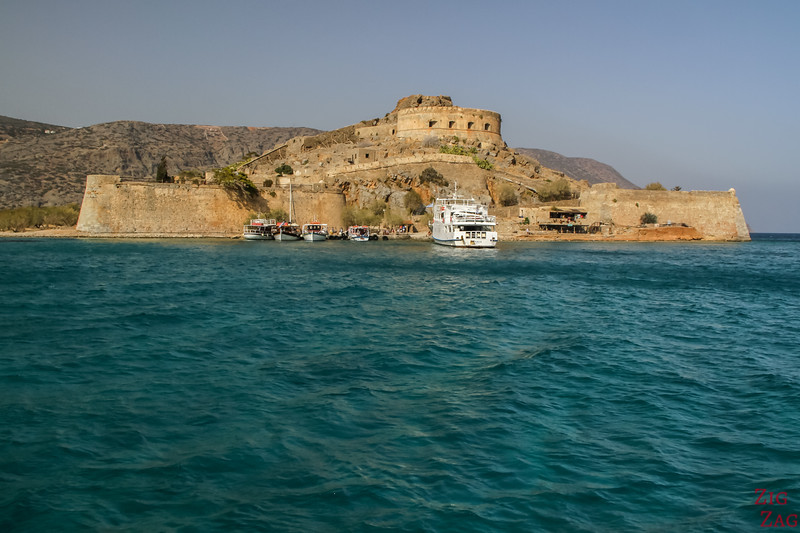 Spinalonga island by boat 2