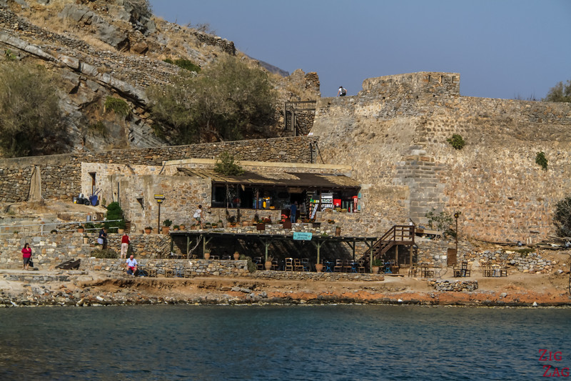Spinalonga island by boat 3