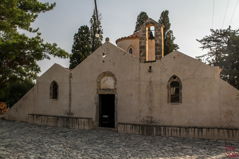 What to visit in Crete - Kritsa Panagia Kera