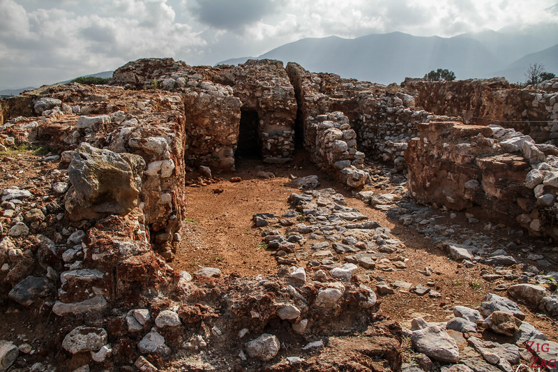 Ancient Ruins in Crete - Malia Minoan place