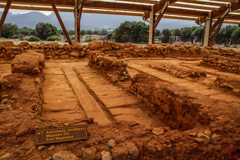 Points of Interest of the archaeological site of Malia - magazines