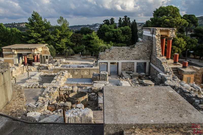 most famous Minoan Palace in Crete - Knossos 1