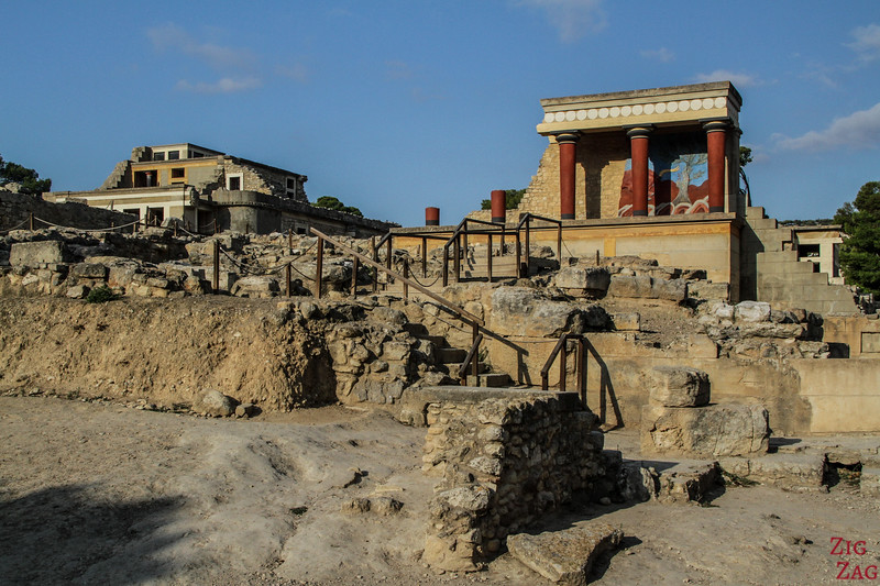 Best places to visit in Crete - Knossos palace