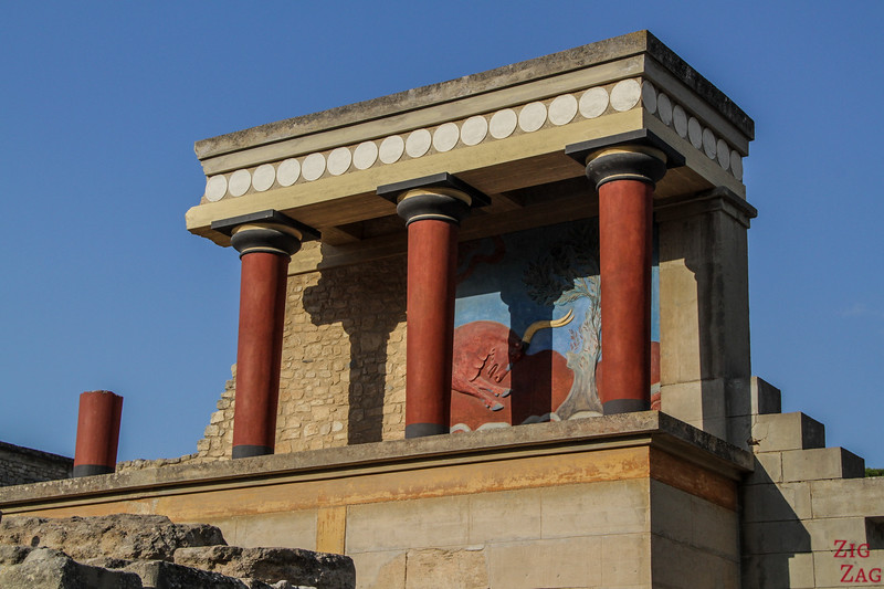 Palace of Knossos - tops destinations in Crete