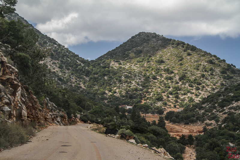 Mountain roads in Crete